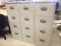 4 draw filing cabinets - £50 each birkenhead area lots in stock