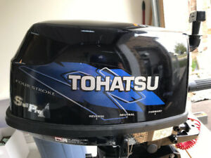 Outboard Motor (6 hp Tohatsu) - Sailpro Long Stem