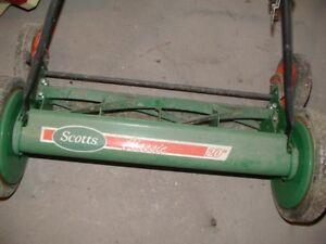 20 Inch push lawn mower