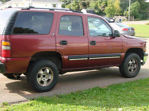 2001 Chevrolet Tahoe Teaxes SUV,