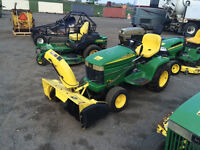 Lawnmowers, Trimmers, and Chainsaws at Auction