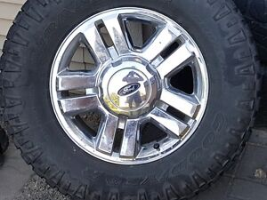 2008 Ford F150 Rims with tires
