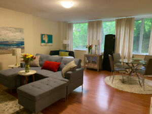 AVAILABLE AUG. 1-FULLY FURNISHED YONGE & BLOOR 1 BD 1 BTH 1Ksqft