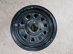 1 itp delta steel wheel 4x110 for Yamaha grizzly