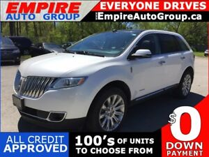 2013 LINCOLN MKX LIMITED * AWD * LEATHER * NAV * REAR CAM * PAN