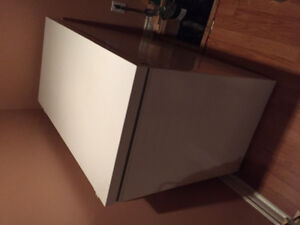 Cube freezer, white, great condition.
