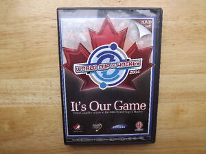 """FS: """"World Cup Hockey 2004: It's Our Game"""" 2-Disc DVD Set"""