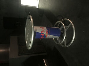 Bar fridge and table - official Redbull merchandise
