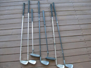Left-Hand Swing Golf Clubs-$5 for the  lot