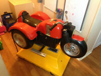 Coin-op kids Motorcycle/Tricycle amusement ride-on