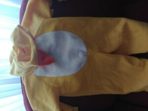 Duck Costume for Baby size 6 to 18 months
