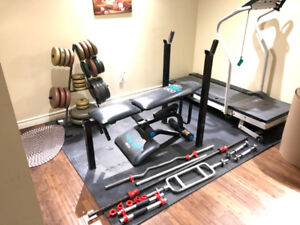 Home Gym - Complete setup that you will need to get started