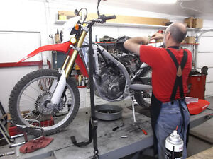 Experienced service/repair for your Honda Dirt Bike