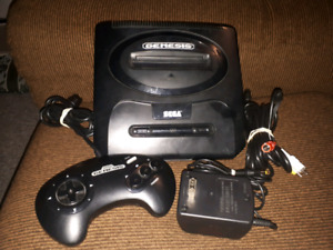 Sega Genesis Model 2 Bundle with Sonic Trilogy