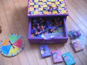 Dora the Explorer Wooden Game Box