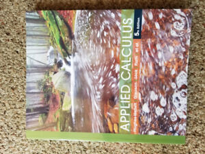 New Applied calculus 5th edition for sale