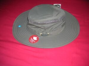 BRAND NEW Air Flow TILLEY Hat - 7!/2 -Green in Box