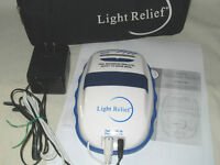 Light Relief LR150 Infrared Pain Reliever Adapter-Instructions+