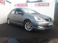 2005 54 HONDA CIVIC 1.7 CTDi SE 5 DOOR.12 MONTHS MOT,ANY PX WELCOME.GREAT MPG .
