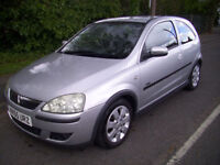 2005 (55 Reg) Vauxhall/Opel Corsa 1.2i 16v SXi