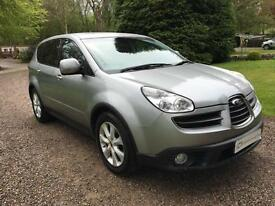 RARE SUBARU TRIBECA 3.0 AUTO 7 SEAT SE7 TOP OF THE RANGE REAR DVD SATNAV LEATHER