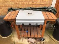 Gas Fuelled BBQ