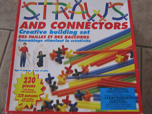 Straws and connectors (230 pieces)