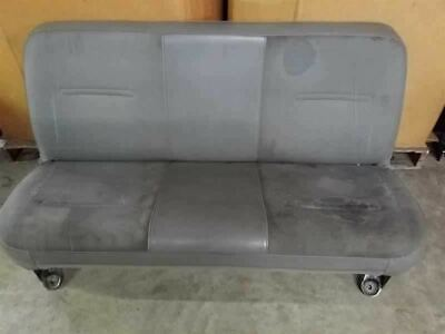 Grey Rear Vinyl Bench Seat | Fits 99 00 01 02 03 04 Ford F250 F350 Crew Cab