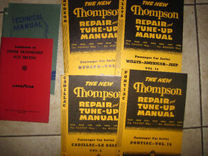 Manuals for Collectible Cars