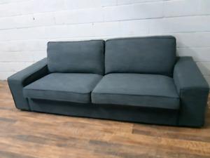 Free delivery: Gray Kivik Sofa