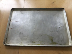 "Commercial Baking Sheet 26"" x 18 "" x 1"" Made of Heavy Aluminum"