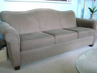 3 year old sofa. firm seating.