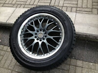 Lexus RX350 Winter Tires with Alloy Mags and Lexus Original TPMS