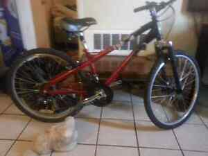 Red Miele 262 mountain bike, 21 speed good condition