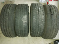 P205/65R/15 All Season Tires with Rims