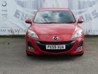 2009 MAZDA 3 1.6 SPORT 17 INCH ALLOY WHEELS PRIVACY GLASS SPORTS SEATS 2 KEYS H