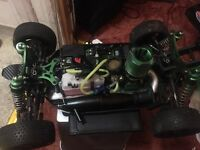 RC Car For Sell! £225 Drives awesome & Just Been Rebuild! NEW CLUCH & HAD TO REPLACE ENGINES