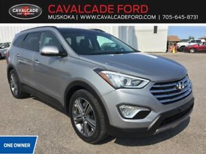 2016 Hyundai Santa Fe XL AWD Limited with roof, nav, backup cam