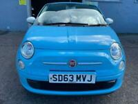 FINANCE AVAILABLE 67500 MILES 2013 Fiat 500 Therapy 1.2 cc, *FLONG MOT_WARRANTY*