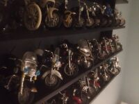 Job lot collection model motor bikes reluctant sale