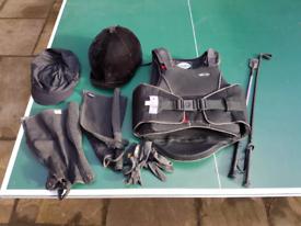 Horse riding kit