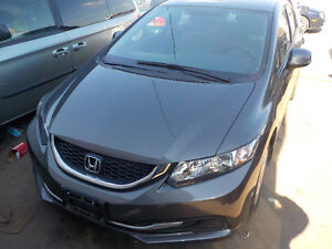 2013 Honda Civic LX Sedan 5 speed Only 12000 km -Super Value