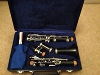 Buffet Crampton B12 Clarinet with case. Very good condition.