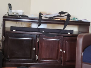 Tv stand and sound bar for sale