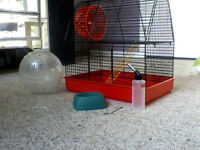 Hamster/Gerbil cage + Accessories