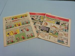 Toronto Star Weekly Weekend Comic Section 1971 (x3)