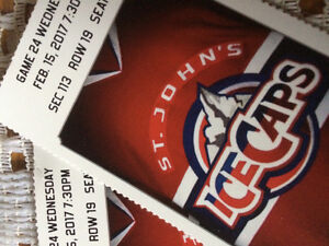Ice cap tickets