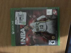 NBA 2k17 unopened!!! Xbox one