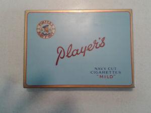 Vintage Player Cigarette Tins