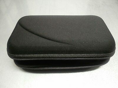 Hard Protective Pouch - Black Protective Hard Carry Pouch for Diabetic supplies Organizer Carrying Case